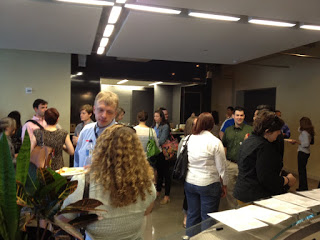 Networking time at a UXPA Event