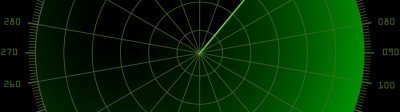 Stock photo of Blank Radar Image