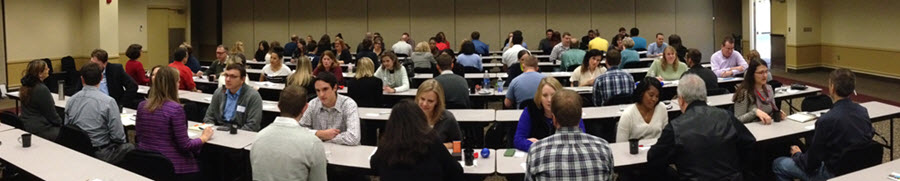 Everyone speed networking in Cleveland, OH - November, 2013